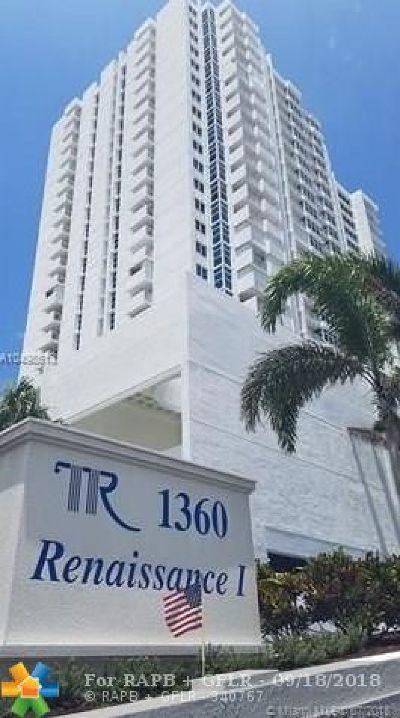 Pompano Beach Condo/Townhouse For Sale: 1360 S Ocean Blvd #2001
