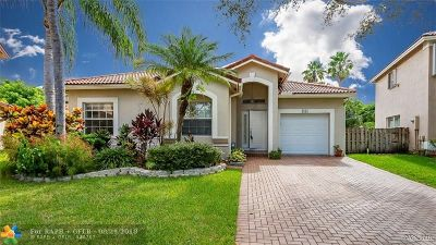 Coral Springs Single Family Home For Sale: 4051 NW 61st Way