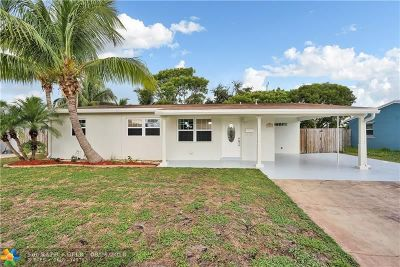 Deerfield Beach Single Family Home For Sale: 1417 S Deerfield Ave