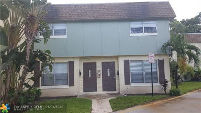 Plantation Condo/Townhouse For Sale: 4623 NW 9th Dr #4623