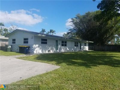 Dania Beach Multi Family Home For Sale: 4480 SW 33rd Ave