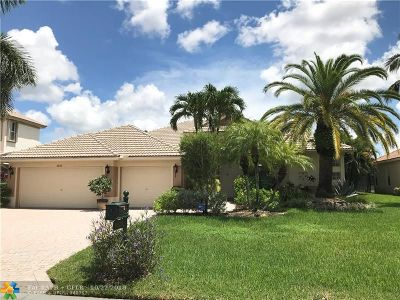 Parkland Single Family Home For Sale: 6828 NW 110th Way