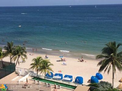 Fort Lauderdale Condo/Townhouse For Sale: 4010 Galt Ocean Dr #701