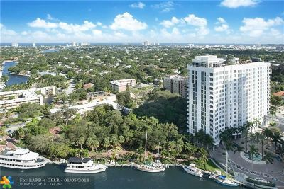 Fort Lauderdale Condo/Townhouse For Sale: 347 N New River Dr #2601