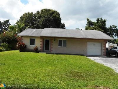 Margate Single Family Home Backup Contract-Call LA: 6120 Edwards Rd