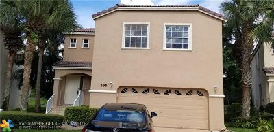 Coral Springs Rental For Rent: 599 NW 87th Ter