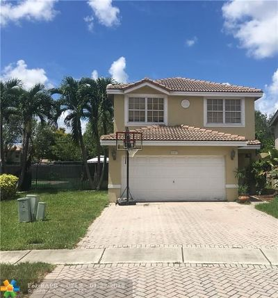Sunrise Single Family Home For Sale: 9397 NW 55th St