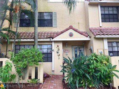 Sunrise Condo/Townhouse Backup Contract-Call LA: 9460 NW 39th St #9460