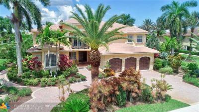 Davie Single Family Home For Sale: 2823 Birch Ter