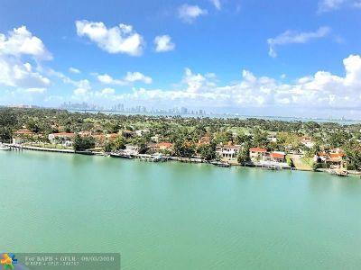 Miami Beach Condo/Townhouse For Sale: 5900 Collins Ave #1201