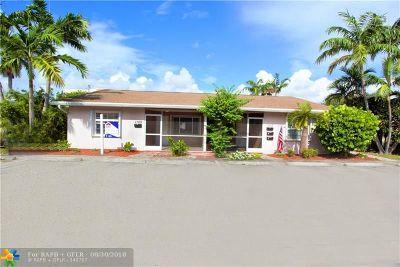 Fort Lauderdale Multi Family Home Backup Contract-Call LA: 1109-1111 NE 17th Ave