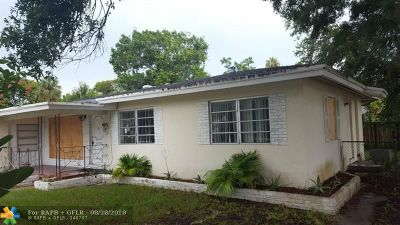 Wilton Manors Single Family Home For Sale: 117 NW 24th St