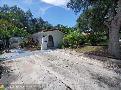 Miami Single Family Home For Sale: 3373 SW 1st Av
