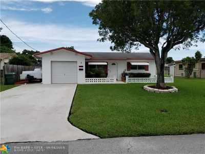 Broward County Single Family Home Backup Contract-Call LA: 4460 NW 19th Ave
