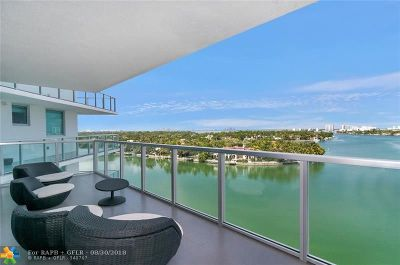Miami Beach Condo/Townhouse For Sale: 6700 Indian Creek Dr #1008