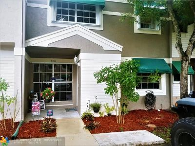 Cooper City Condo/Townhouse Backup Contract-Call LA: 5186 SW 122nd Ter #5186