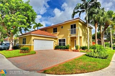 Coconut Creek Single Family Home For Sale: 4719 NW 5th Ct