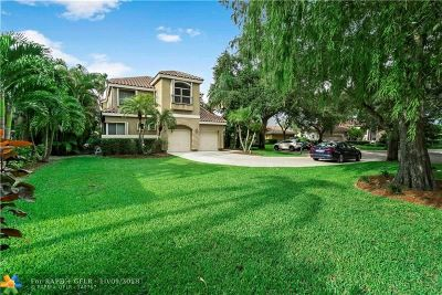 Coral Springs Single Family Home For Sale: 10031 NW 50th Mnr