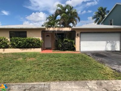 Sunrise Single Family Home For Sale: 3700 NW 116th Ter