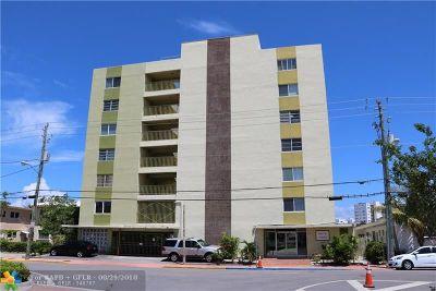 Miami Condo/Townhouse For Sale: 8001 Crespi Blvd #5C