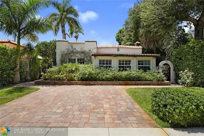 Fort Lauderdale Single Family Home Backup Contract-Call LA: 613 SE 12th Ter