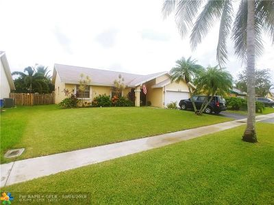 Sunrise Single Family Home For Sale: 9340 NW 31st Pl