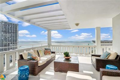 Fort Lauderdale Condo/Townhouse For Sale: 2000 S Ocean Dr #PH 3