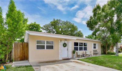 Oakland Park Single Family Home For Sale: 5950 NE 6th Ter