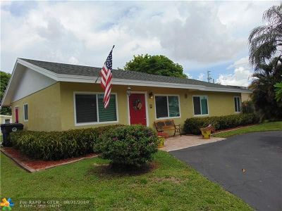 North Lauderdale Single Family Home Backup Contract-Call LA: 7803 SW 8th St