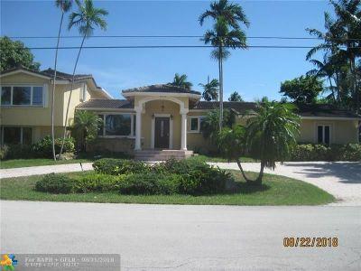 Broward County Single Family Home For Sale: 2878 NE 26th St