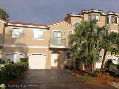 Sunrise Condo/Townhouse For Sale: 1473 NW 126th Way #1473