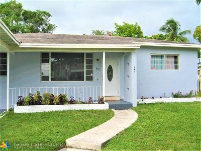 North Miami Single Family Home For Sale: 967 NE 145th St