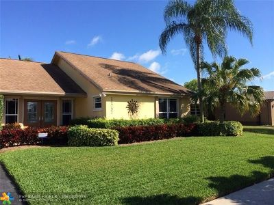 Sunrise Single Family Home For Sale: 11737 NW 37th St
