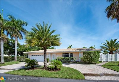 Fort Lauderdale Single Family Home For Sale: 2801 NE 59th Ct