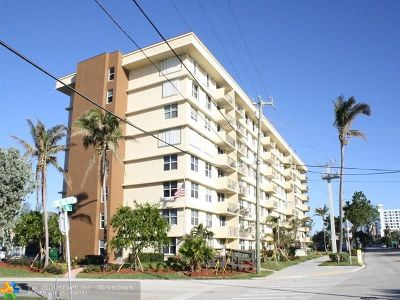 Pompano Beach Condo/Townhouse For Sale: 1009 N Ocean Blvd #403