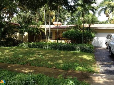 Plantation Single Family Home For Sale: 625 Ixora Ln