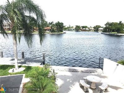 Fort Lauderdale Condo/Townhouse For Sale: 1811 Middle River Dr #1811