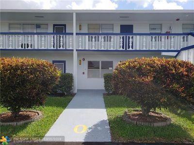 Deerfield Beach Condo/Townhouse For Sale: 293 Prescott O #293