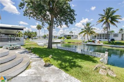 Hallandale Single Family Home For Sale: 704 Marine Dr