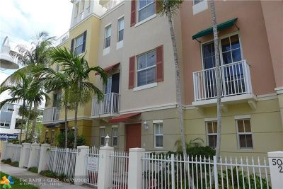 Fort Lauderdale Condo/Townhouse For Sale: 502 NE 7th Ave #2