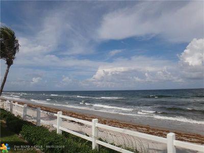 Hillsboro Beach Condo/Townhouse For Sale: 1221 Hillsboro Mile #43B