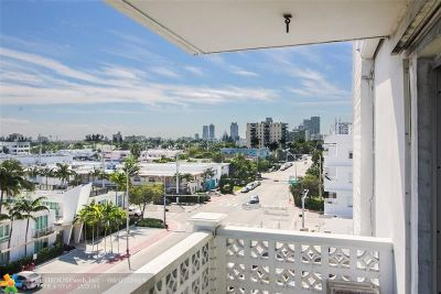 Miami Beach Condo/Townhouse For Sale: 1614 West Ave #601