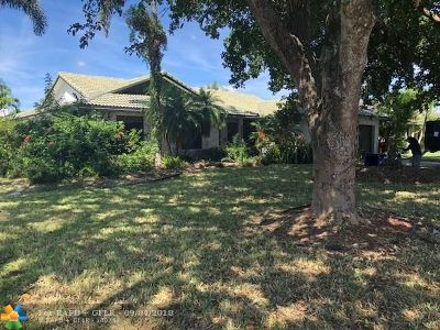 Coral Springs Single Family Home For Sale: 11303 NW 5 Street