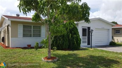 Deerfield Beach Single Family Home For Sale: 1030 NW 49th Ct