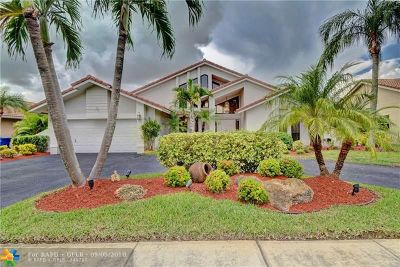 Coral Springs Single Family Home For Sale: 4766 NW 96th Dr