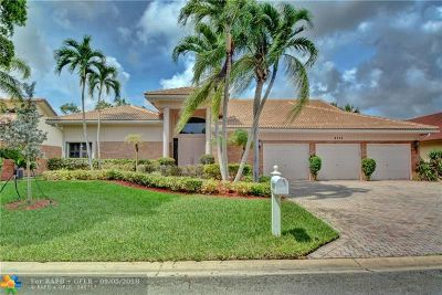 Coral Springs Single Family Home For Sale: 8735 NW 17th Mnr