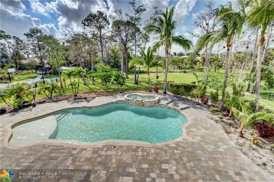 Parkland Single Family Home For Sale: 5897 NW 74 Te