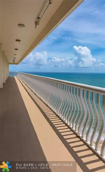 Fort Lauderdale Condo/Townhouse Backup Contract-Call LA: 4020 Galt Ocean Drive #1006