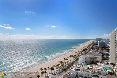Fort Lauderdale Condo/Townhouse For Sale: 1 N Fort Lauderdale Beach Blvd #2004
