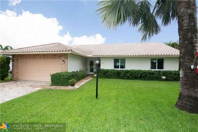 Lauderdale By The Sea Single Family Home For Sale: 265 Allenwood Dr